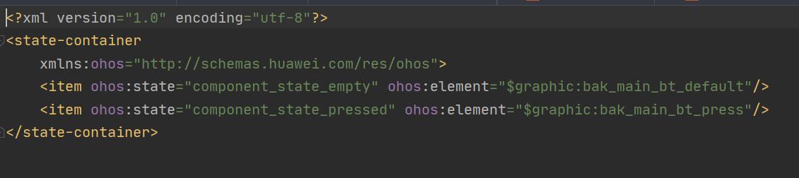 Button如何设置state-container背景,目前button只能设置默认背景,无法显示点击动态效果? -鸿蒙HarmonyOS技术社区