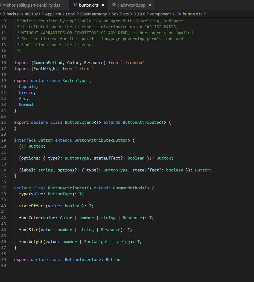 #星光计划1.0# DevEco Studio 3.0   ETS新语法解读-鸿蒙HarmonyOS技术社区